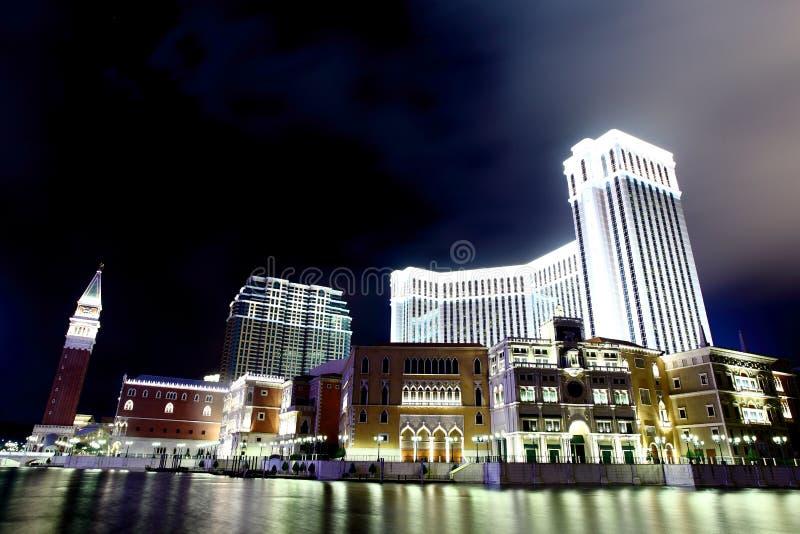 Das venetianische Hotel - Macau lizenzfreie stockbilder