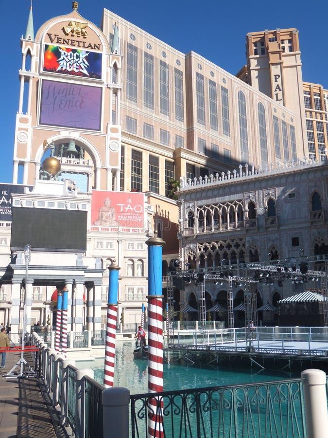 Das Venetianische Urlaubshotel-Kasino In Las Vegas Redaktionelles Stockfoto