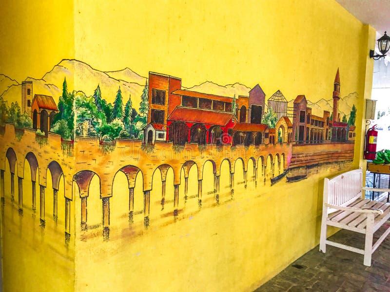 Das Verona bei Tublan ist die schönste und meiste ausgezeichneteste Steinbaustelle stockfotos
