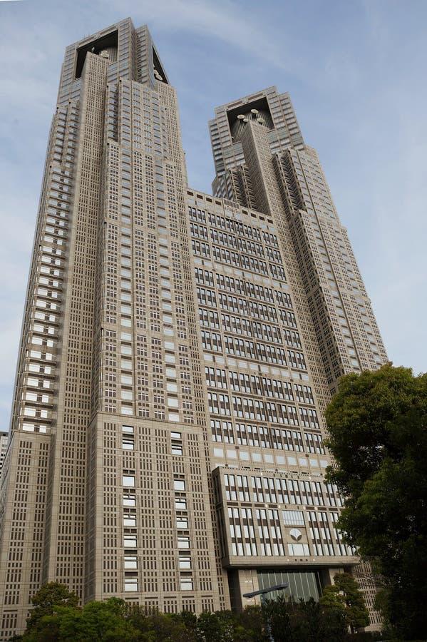 Das Verwaltungsgebäude der Präfektur von Tokyo stockfoto