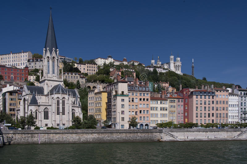 Das vieux Lyon lizenzfreies stockbild