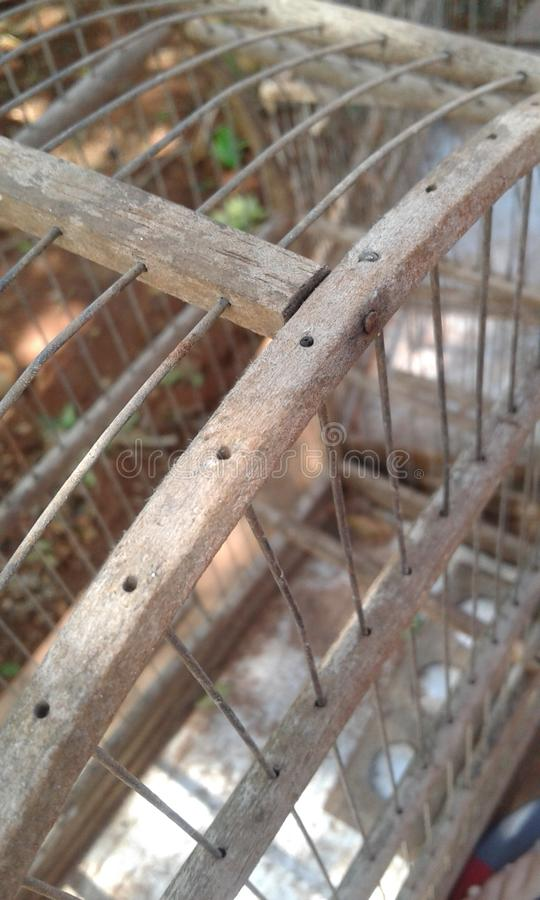 Das Vogelhaus lizenzfreie stockfotos