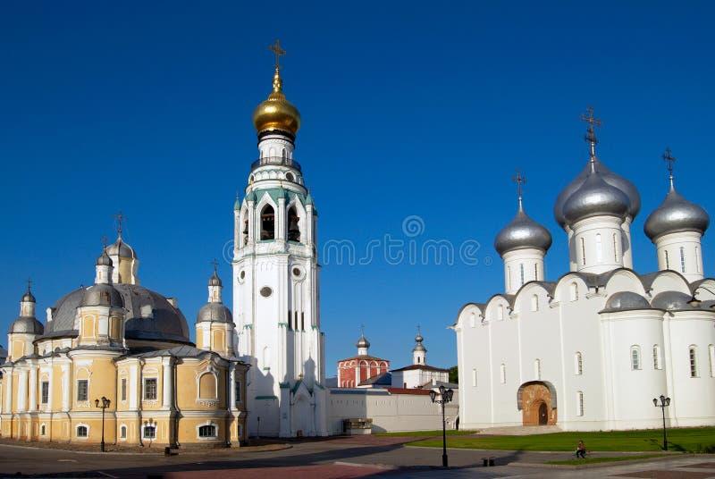 Das Vologda Kremlin stockbild