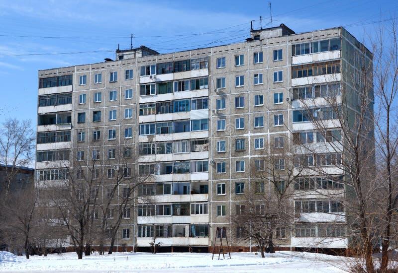 Das vorfabrizierte Gebäude der Platte lizenzfreie stockbilder