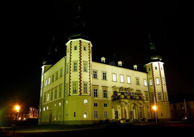 Das Vrchlabi Schloss stockfoto