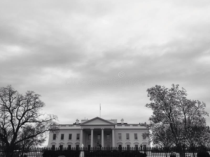 Das Weiße Haus lizenzfreie stockbilder