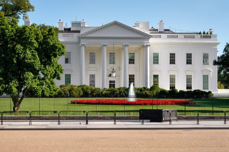 Das Weiße Haus im Washington DC stockfotografie