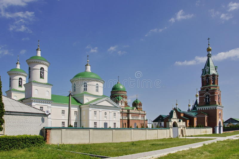 Das wieder belebte Kloster stockfoto