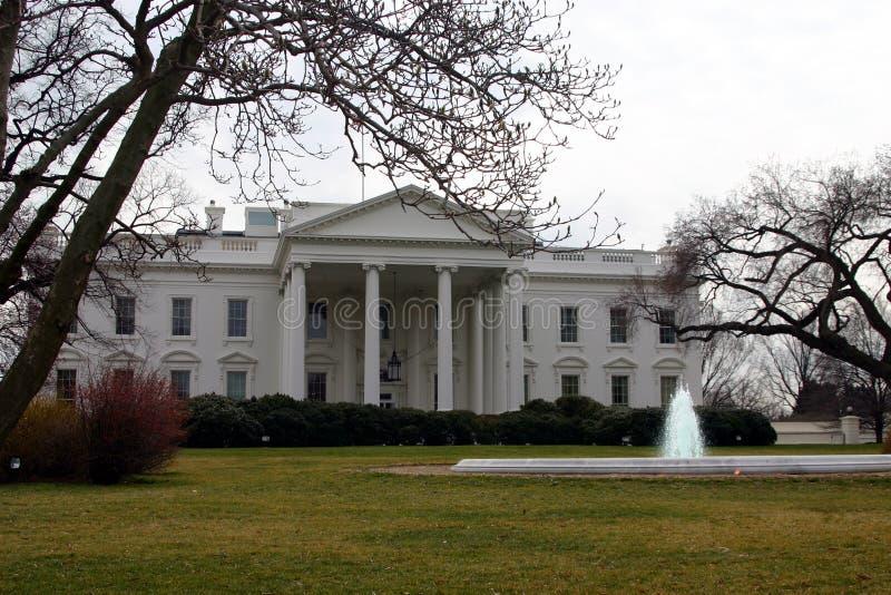 Das Winter--Weiße Haus stockbild