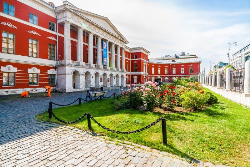 Das Zustands-zentrale Museum der zeitgenössischen Geschichte von Russland lizenzfreie stockbilder