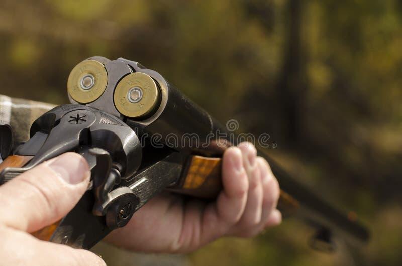 Das Zwölfmessgerätgewehr lizenzfreie stockfotos