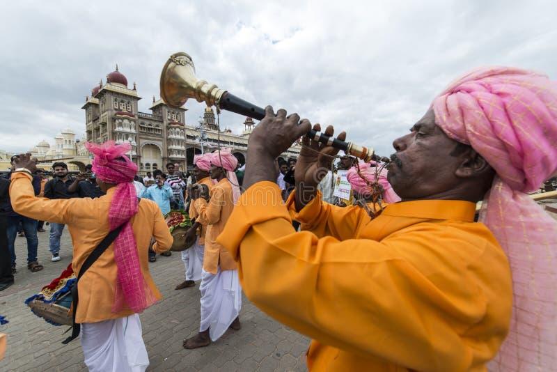 Dasara festiwal przy Mysore zdjęcie royalty free