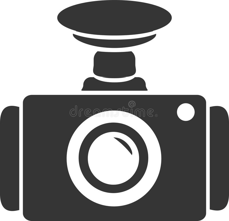 Free Dash Cam - Windshield Suction Mount Royalty Free Stock Photography - 102033577
