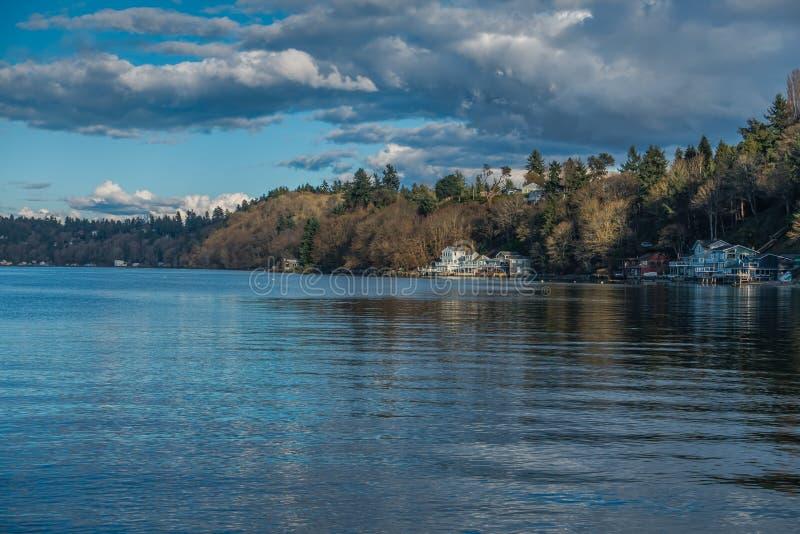 Dash Point Shoreline Landscape 5 stock image