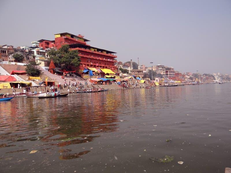 Dashashwamedh Ghat] Varanasi photographie stock libre de droits