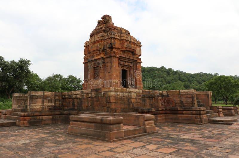 Dashavatara Vishnu Temple, Lalitpur, VERS LE HAUT DE photos stock