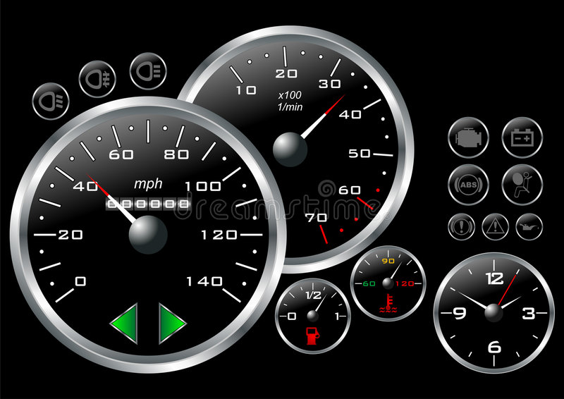 Dashboard_03 illustration libre de droits