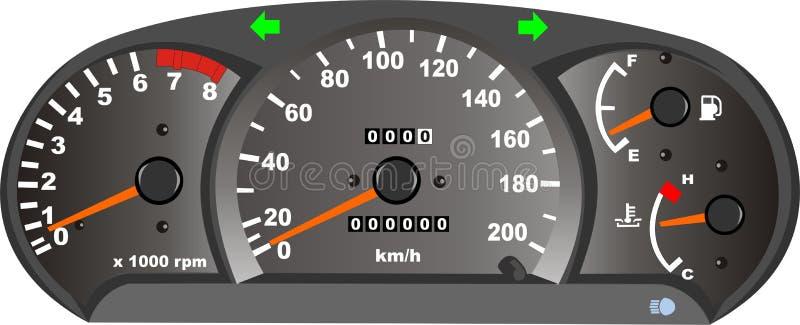 dashboard διανυσματική απεικόνιση