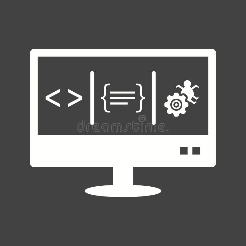 dashboard ilustração stock