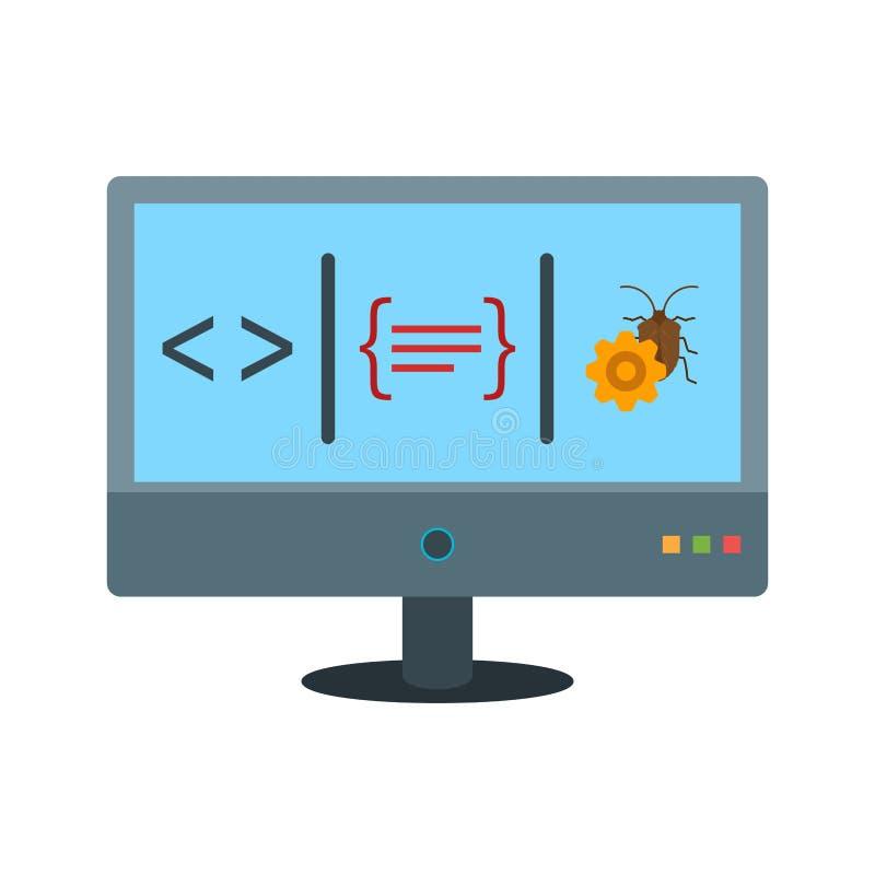 dashboard ilustração do vetor