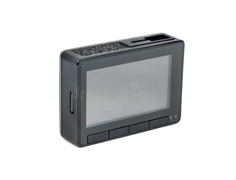 Dashboard camera isolated stock photo