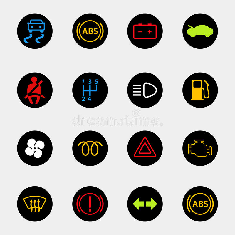 Dashboard Car Icons Stock Vector Image Of Lock Panel - Car image sign of dashboardcar dashboard icons stock photospictures royalty free car