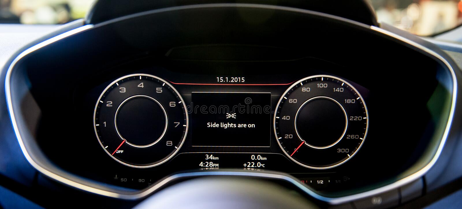 Dashboard Of New Audi TT Coupe At The Singapore Motorshow ...
