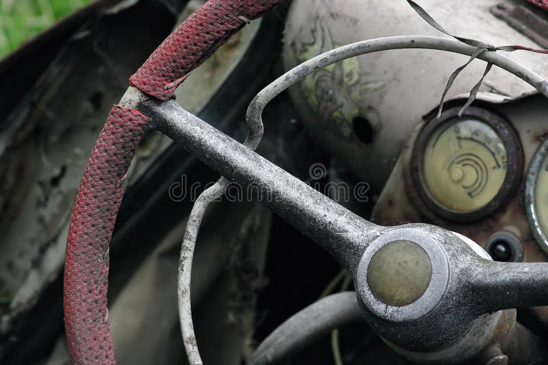 Dashboard Out Of Use Stock Image