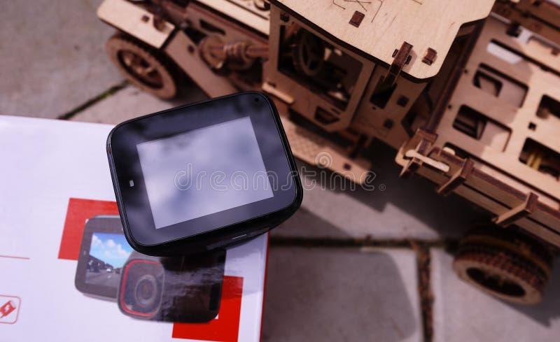 DashCam для автомобиля o стоковые изображения rf