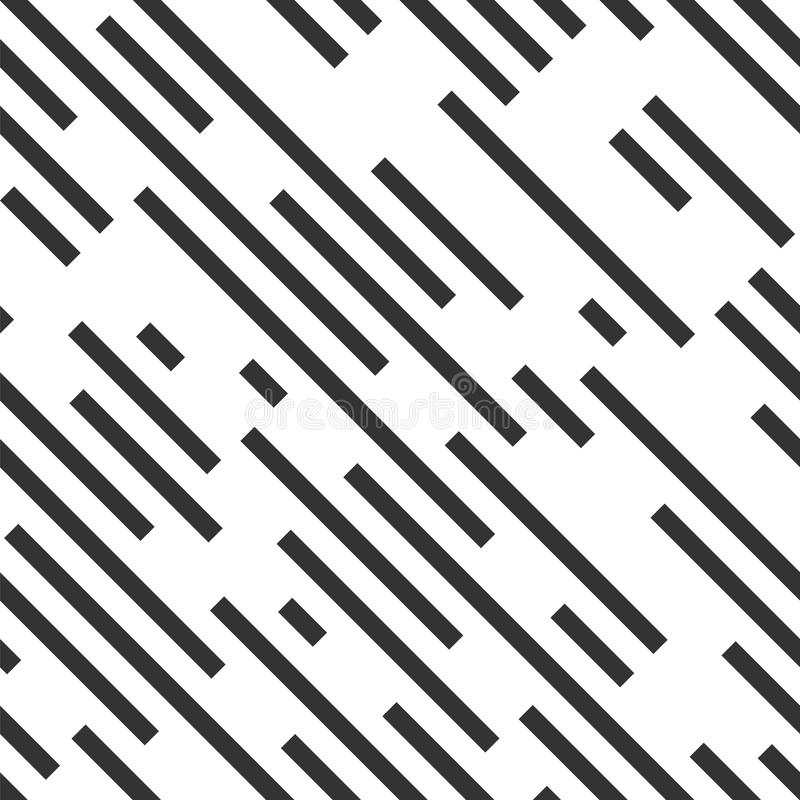 Dashed diagonal background. Seamless vector pattern. royalty free illustration