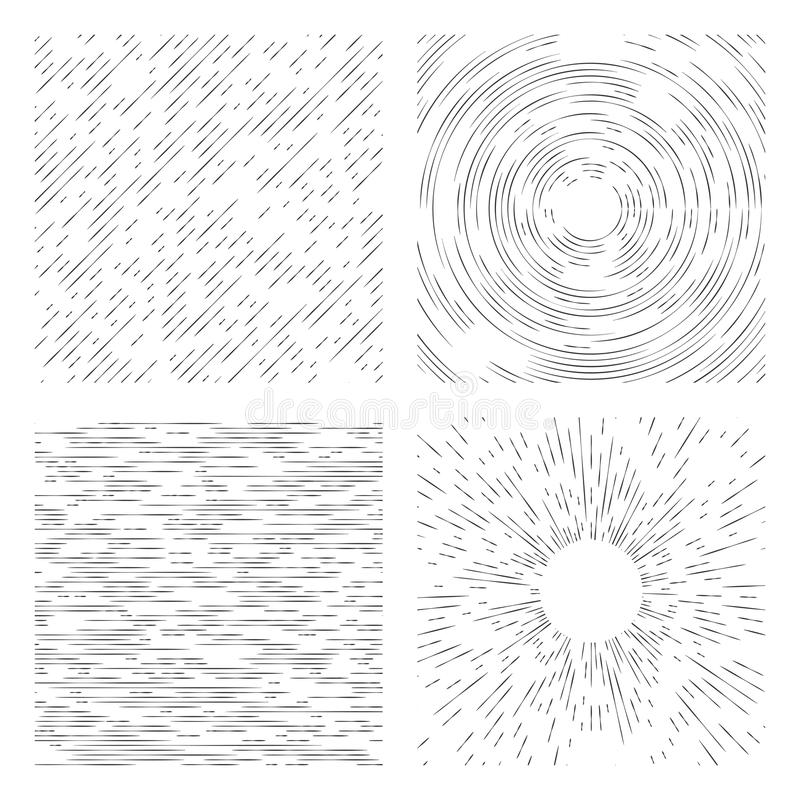 Dashed grunge background. Universally applicable monochrome abs royalty free illustration