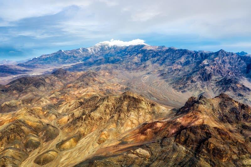 Dasht-e Lut Desert nell'Iran orientale preso nel gennaio 2019 hdr contenuto immagine stock libera da diritti