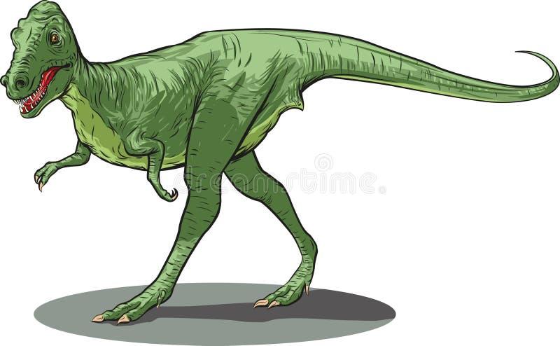 Download Daspletosaurus stock vector. Illustration of dangerous - 28879788