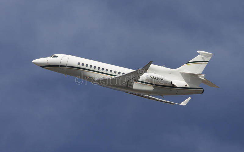 Dassault Falcon 7X royalty free stock photo