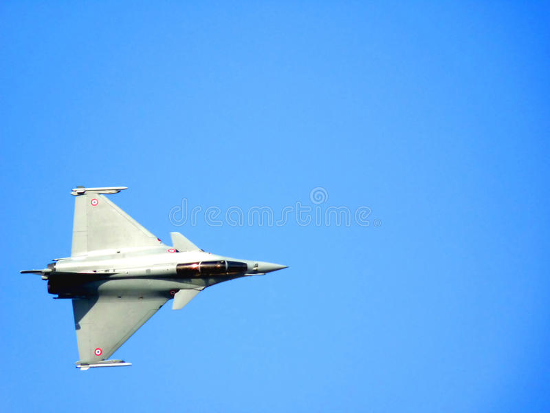 Dassault Rafale Fighter Jet royalty free stock image