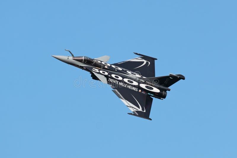 Dassault Rafale, visión superior foto de archivo
