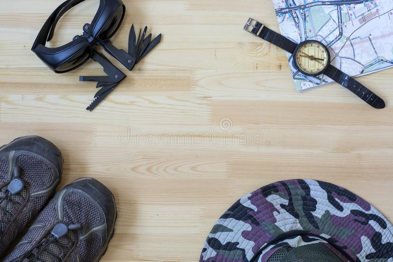 Dat alles wordt verbonden aan reis: rapanazeeschelpen van hoedenschalies stock foto