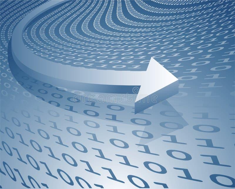 dataöverföring stock illustrationer