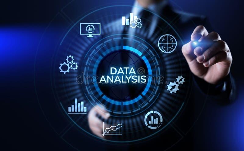 Data analysis business intelligence analytics internet technology concept. stock photography