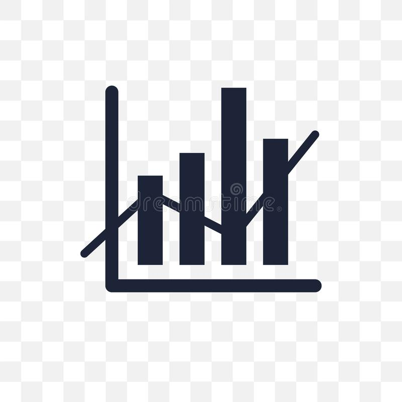 Data analytics transparent icon. Data analytics symbol design fr stock illustration