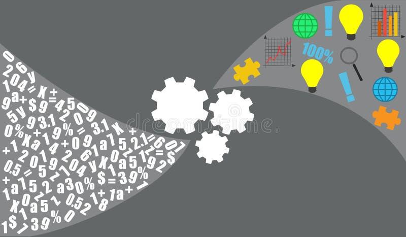 Data analytics vector illustration