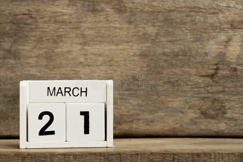 Calendario Attuale.21 Marzo Giorno Di Poesia Di Mondo Sul Calendario Immagine