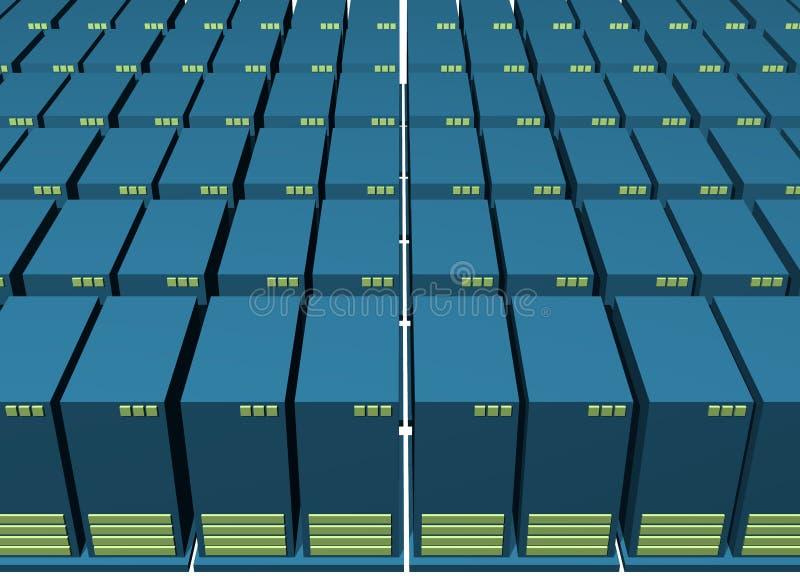 Download Data Backup Warehousing Environment Stock Illustration - Illustration of computing, information: 4870011