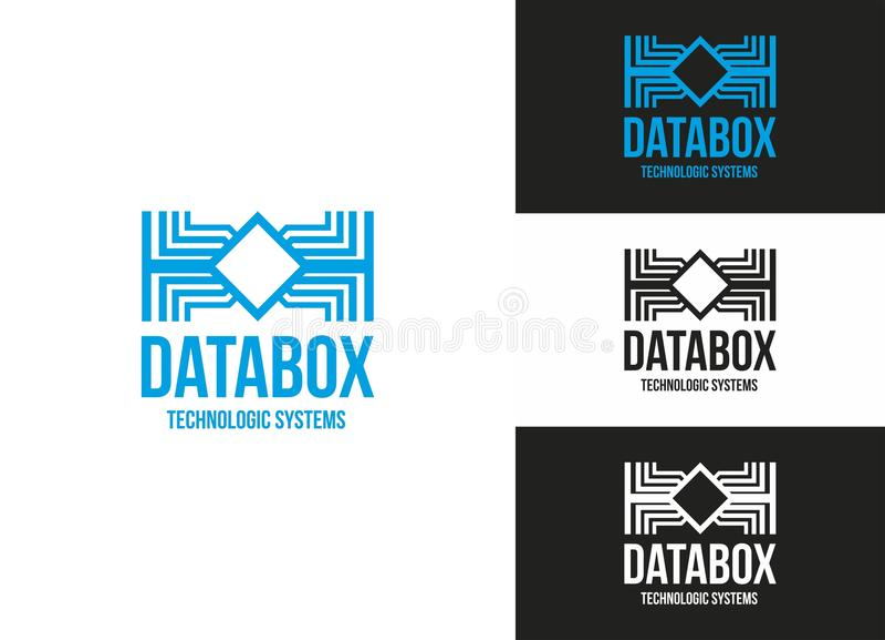Data Box royalty free illustration