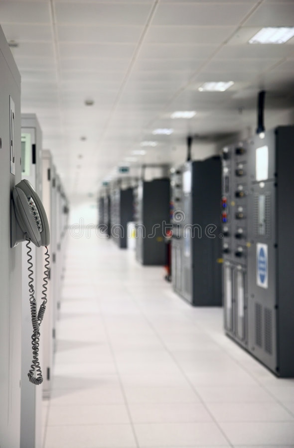 Data Center. Internet Service Providers Premises - Datacenter