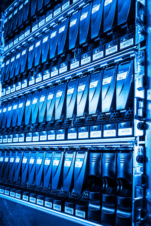 Download Data center stock photo. Image of drive, blue, medium - 29617104