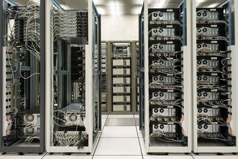 Data center. And Internet exchange