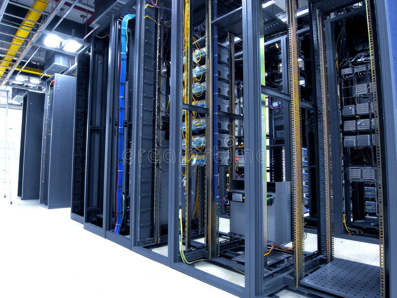 Download Data center stock image. Image of cables, line, interior - 8690451