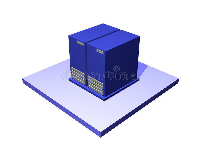 Download Data Center A Logistics Supply Chain Diagram Objec Royalty Free Stock Photos - Image: 4312988