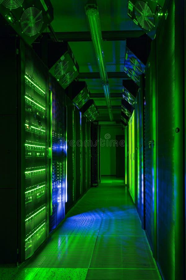 Telecommunication Room Design: Data Center, Server Room. Internet And Network